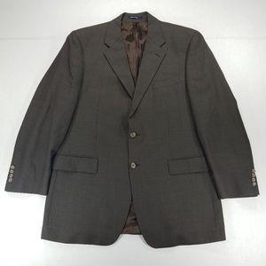 Ralph Lauren Brown 2 button 1 vent sport coat